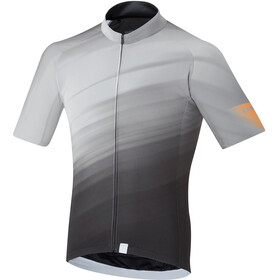 Shimano Breakaway Maillot de cyclisme Homme, white